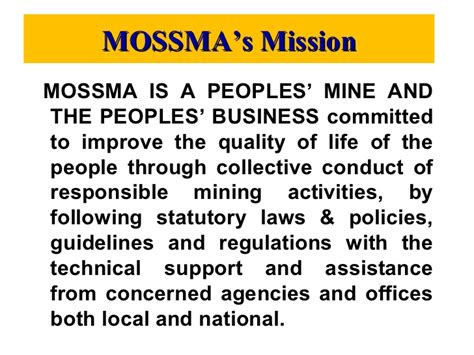 mossma peoples 39 mine peoples 39 business2