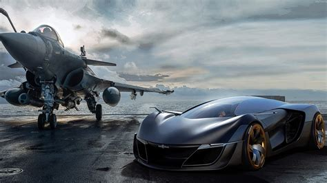 New Car Wallpaper 2560x1440 Bell & Ross Aero Gt Concept