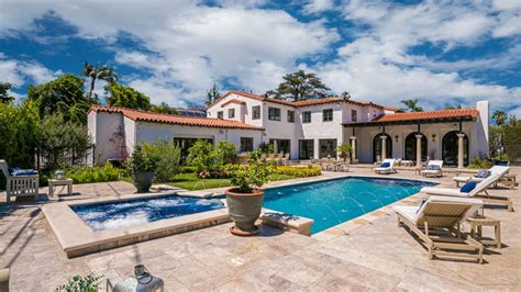 spanish style homes  los angeles california robb report