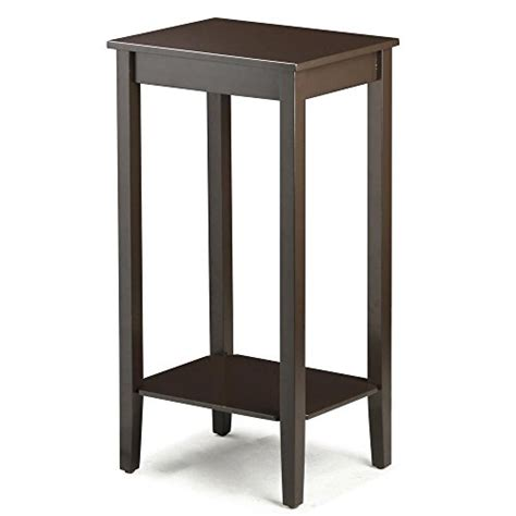 how tall are end tables topeakmart tall side coffee end table solid wood