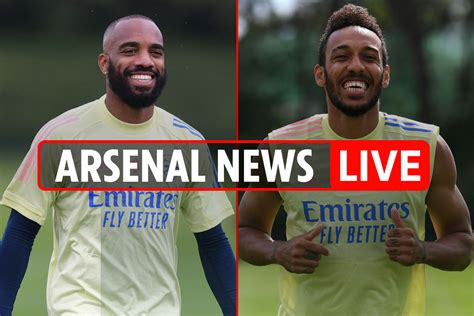 Lacazette to leave, Aubameyang to stay, third kit tonight ...