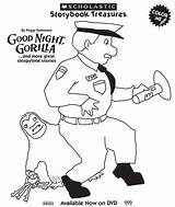 Gorilla Coloring Night Clipart Zookeeper Goodnight Activities Pages Preschool Zoo Theme Printable Baby Clipground Animals Skills Social Etsy Getcolorings Boom sketch template