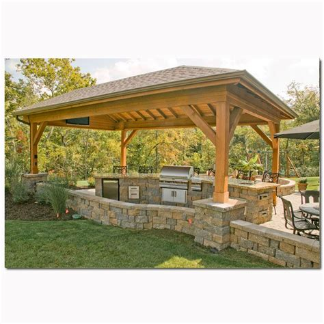 covered outdoor bbq area covered bbq area home ideas pinterest
