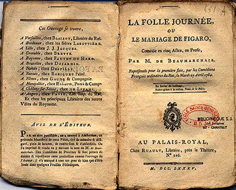 le mariage de figaro analyse monologue le mariage de figaro de beaumarchais