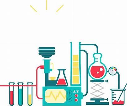 Lab Chemistry Experiment Vector Cartoon Transparent Thank