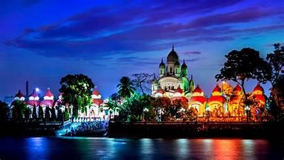 Kali Temple Dakshineswar Bing Night Peapix Bwallpaperhd