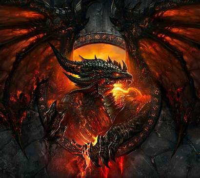Warcraft Dragon Fire Phone Guardado Desde Pantalla