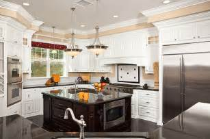 kitchen with island 36 beautiful white luxury kitchen designs pictures