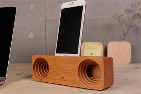 anjos mobile phone amplifier cherry wood shop paviden