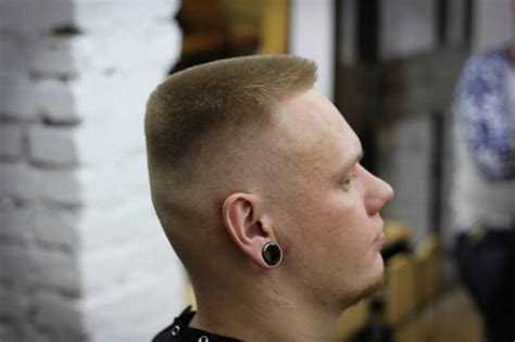 exquisite flat top haircut designs  style