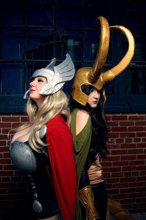 Thor Loki I Think Aimee Siebert And I Should Do This
