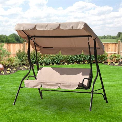 canapé swing replacement swing canopies for lowe39s swings garden winds