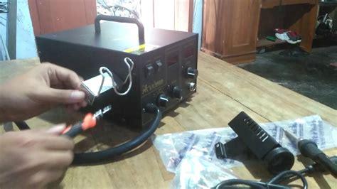alat service laptop  hp blower solder lion king lk