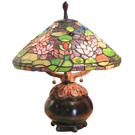 tiffany l shade kits tiffany style leaded glass shade table l for sale at
