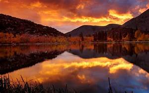 Landscapes, Nature, Autumn, Season, Reflections