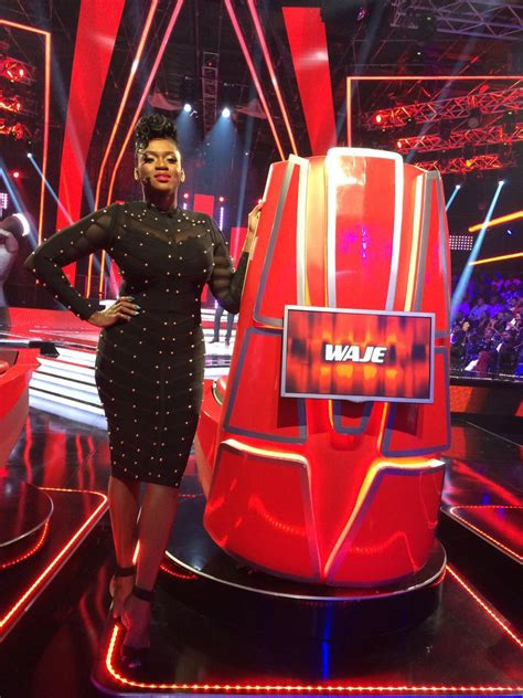 """The voice nigeria season 3 blind auditions is off with a bang! Waje's Look on """"The Voice Nigeria"""" Tonight brought the HEAT   BellaNaija"""
