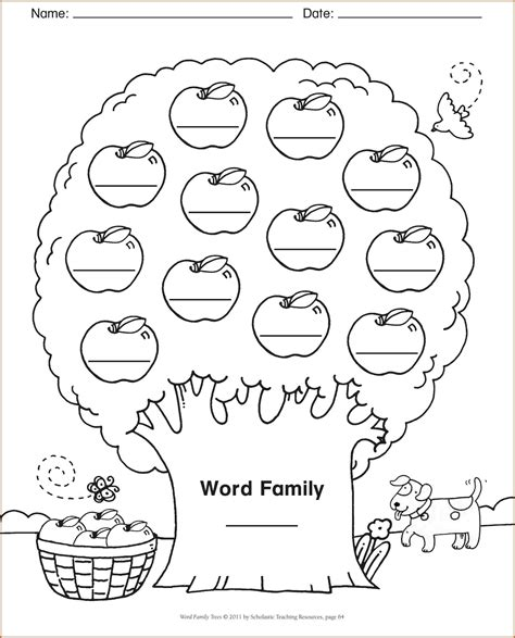 Family Tree Template Word Family Tree Word Template Authorization Letter Pdf