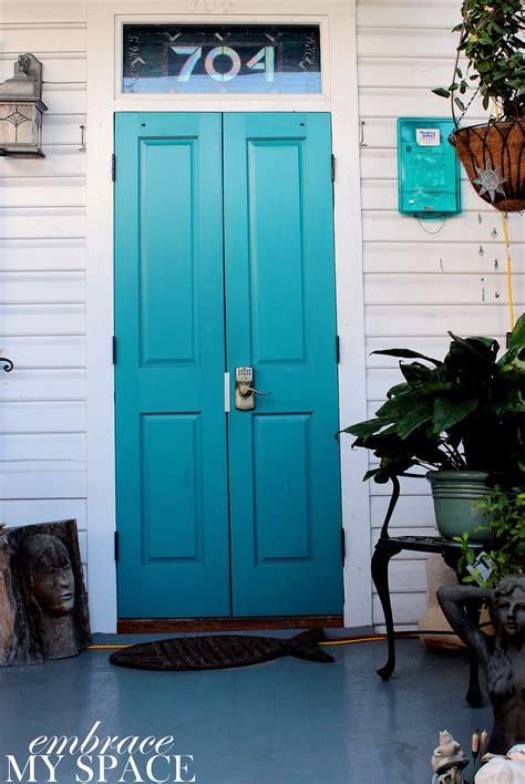 teal coastal front door color pictures   images