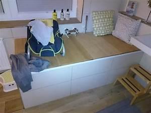 Abdeckung Für Badewanne : badewannen abdeckung bauanleitung zum selber bauen selber machen home organisation in ~ Frokenaadalensverden.com Haus und Dekorationen
