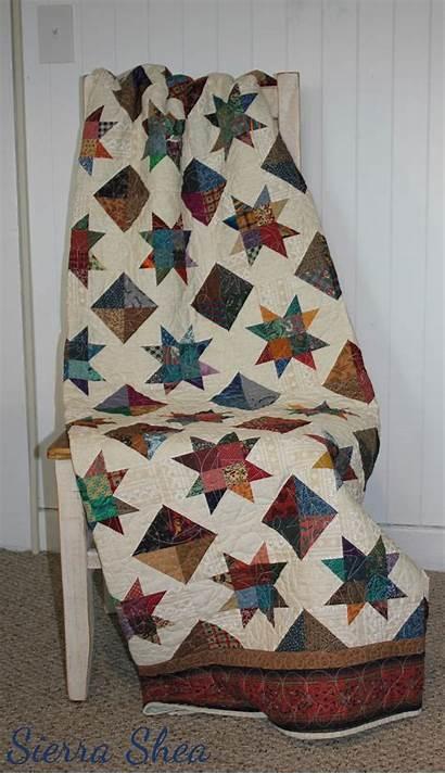 Patterns Quilt Queen Four Cut Pre Fabrics