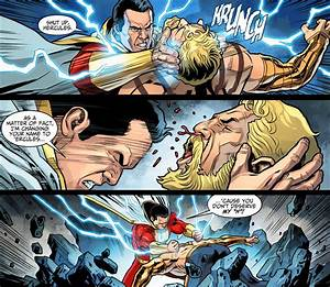Shazam VS Hercules (Injustice Gods Among Us) | Comicnewbies