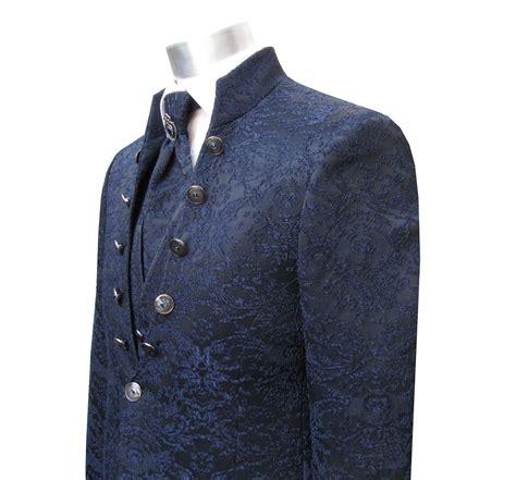 gehrock barock anzug hochzeit  teilig dunkelblau mode koeln