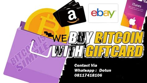 Bid on anything in the world's largest marketplace. ADS!!! We Buy Bitcoin, Itunes Gift Card And More - Dotun`s Blog