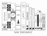 Testament Coloring Pages Bookshelf Lds Books Mormon Bible Fill Blank Study Scripture Themormonhome Gospel Poster Mini sketch template