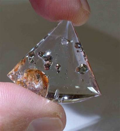 Quartz Pyrite Inclusions Crystals Gemstones Citrine Gemstone