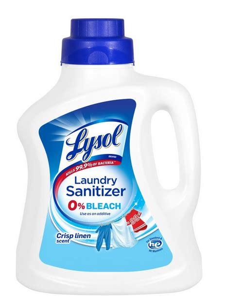 Lysol Laundry Sanitizer Additive - A Thrifty Mom - Recipes
