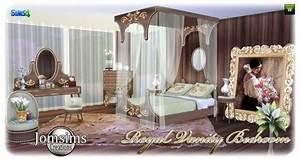 Royal Vanity Bedroom At Jomsims Creations Sims 4 Updates