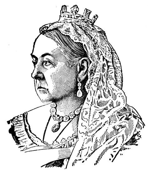 queen victoria  england clipart