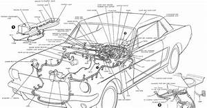 Ford Mustang Wiring Harnes Diagram