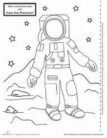 Astronaut Worksheets and Activities - Pics about space