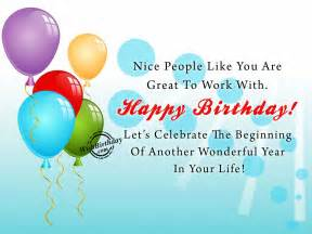 Happy Birthday Wishes Colleague