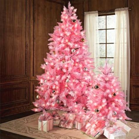 pink christmas tree decorating ideas