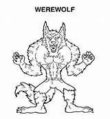 Werewolf Pages Coloring Goosebumps Printable Scary Print Face Wolf Template Anime Getcolorings Sonic Zombie Printing Popular Button Through Coloringhome sketch template