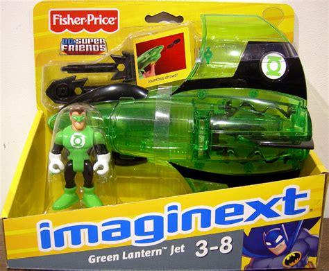 green lantern jet imaginext vehicle with figure