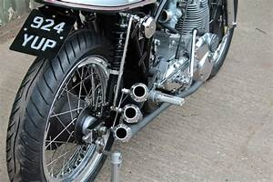 Racing Caf U00e8  Triton By Made In Metal Motorcycles