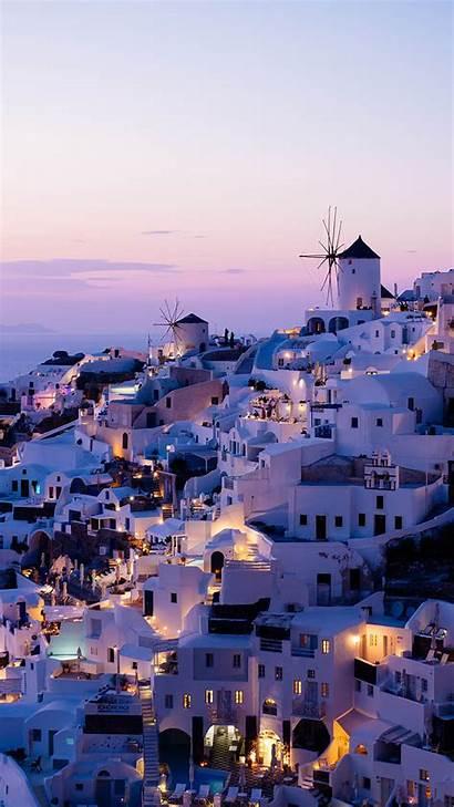 Iphone Wallpapers Xr Greece Santorini Summer Background