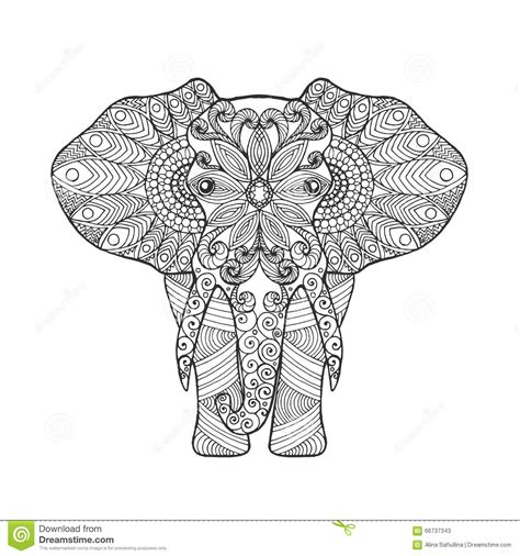 elephant stock vector image