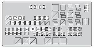 2009 Toyotum Sequoium Fuse Box Panel