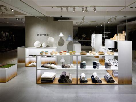 nendo designs backyard by n retail space for seibu sogo