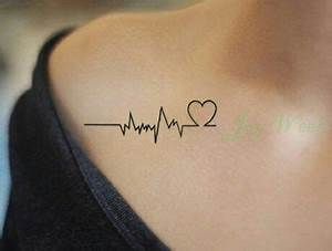 Tatouage Symbole Vie : tatouage ligne de vie coeur ~ Melissatoandfro.com Idées de Décoration