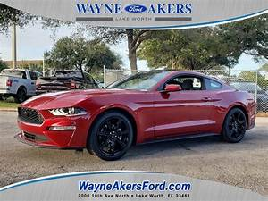 New 2020 FORD MUSTANG ECOBOOST FASTBACK Rear Wheel Drive Fastback
