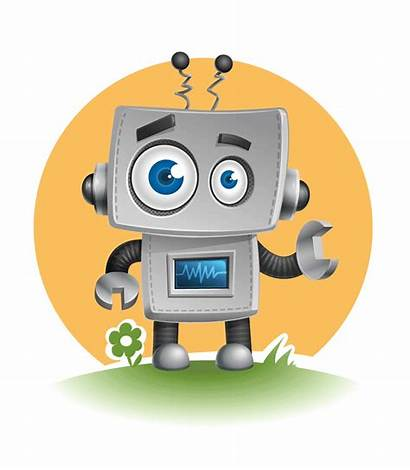 Robot Vector Character Robots Characters Simple Animated