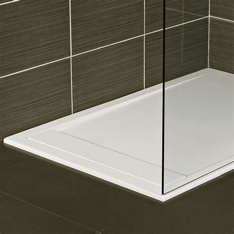 bathroom linen solid shower trays shower trays