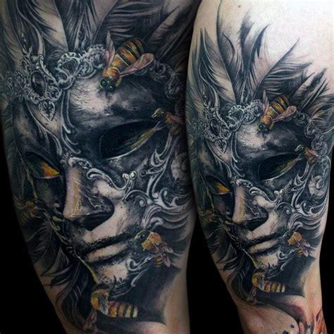 Les 25 Meilleures Idées Concernant Venetian Mask Tattoo