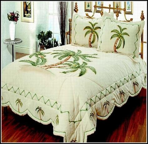 palm tree bedding king size bedroom home decorating ideas nmpyedpvw