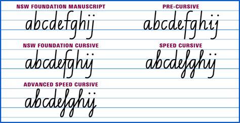 kids learn cursive writing page